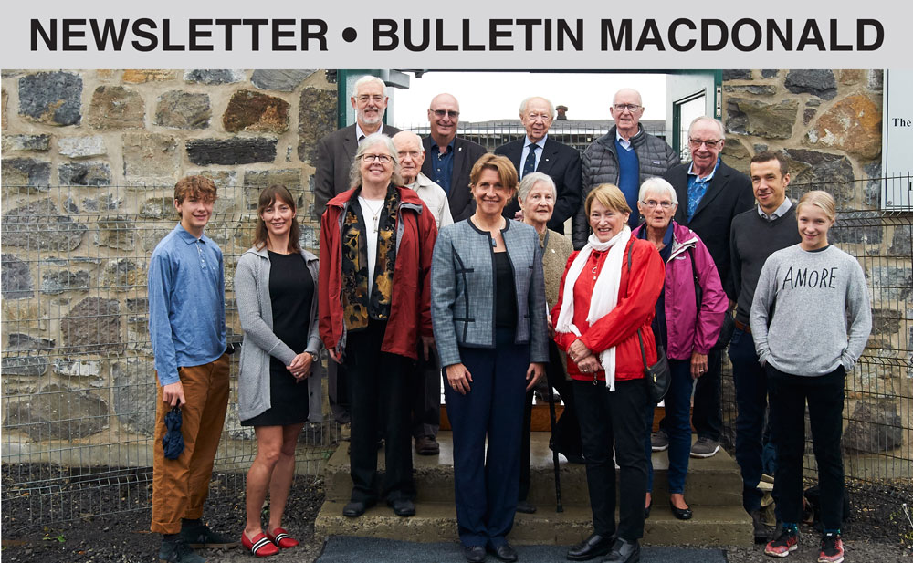 Newsletter - Bulletin Macdonald