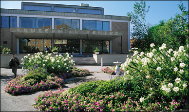 The Centennial Centre offer services to the Macdonald Campus populace.