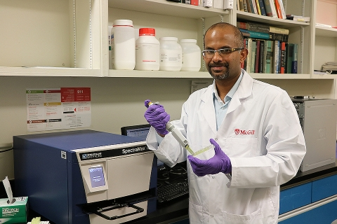 Professor Saji George is the Canada Research Chair in Sustainable Nanotechnology for Food and Agriculture