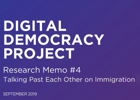 Digital Democracy Project banner Memo #4