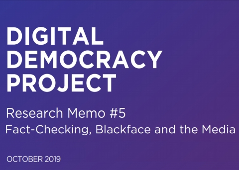 Digital Democracy Project banner Memo #5