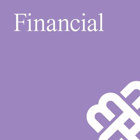 Financial banner