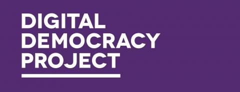 Digital Democracy Project banner