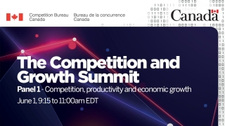 The Competition and Growth Summit - Panel 1: Competition, productivity, and economic growth