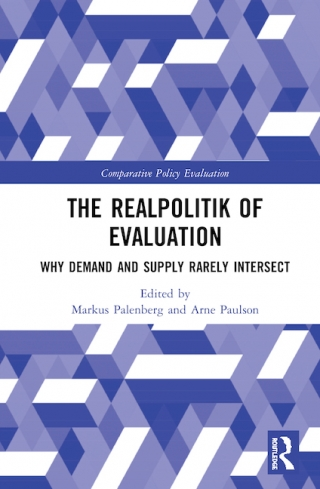 """An image of the cover of the book 'The Realpolitik of Evaluation. Why Demand and Supply Rarely Intersect"""""""