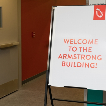 On January 8th, the new Armstrong building opened its doors. Coffee and refreshments were served to celebrate.