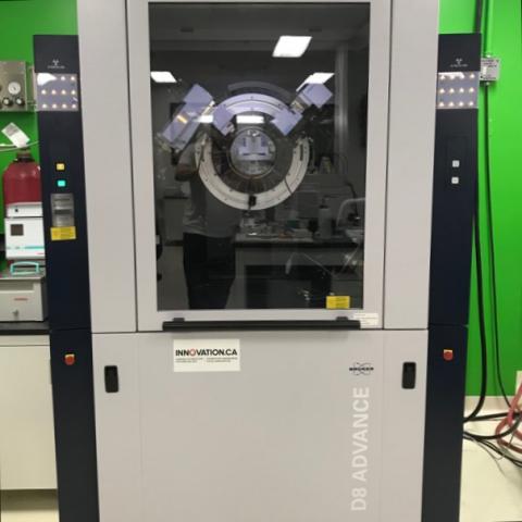 Bruker D8 powder X-ray diffractometer