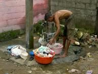 Inadequate drainage