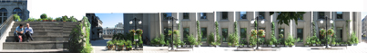 View of the Edible Campus