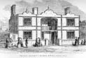Drawing of the Henry Robert's designed house built in Hyde Park in 1851.