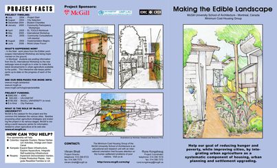 Brochure for UIA, cover thumbnail