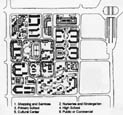 Fig. 4.19 Site plan from a Chinese team in 1988.