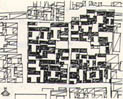 Fig. 4.6 Chunfeng hutong: pre-renewal site-plan.