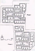 Fig. 4.7 Chunfeng hutong: site-plan.