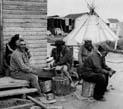 Image from Fort George for Chapter 4: L'habitat autochtone et le genre: une approche sensible de la population crie de Chisasibi.