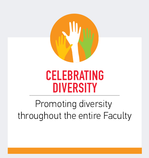 Celebrating Diversity - Promoting diversity throughout the entire Faculty