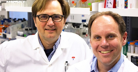 Two male McGill researchers