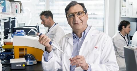 Male McGill Researcher in lab