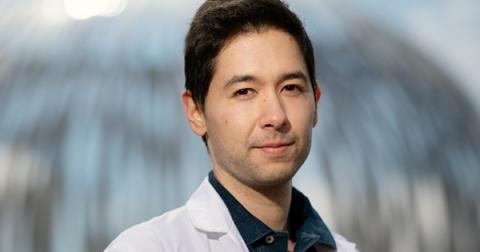 Male McGill researcher