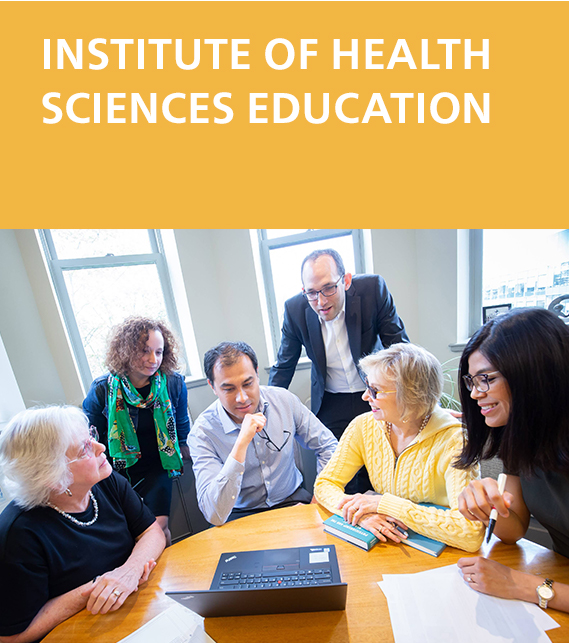 Institute of Health Sciences Education