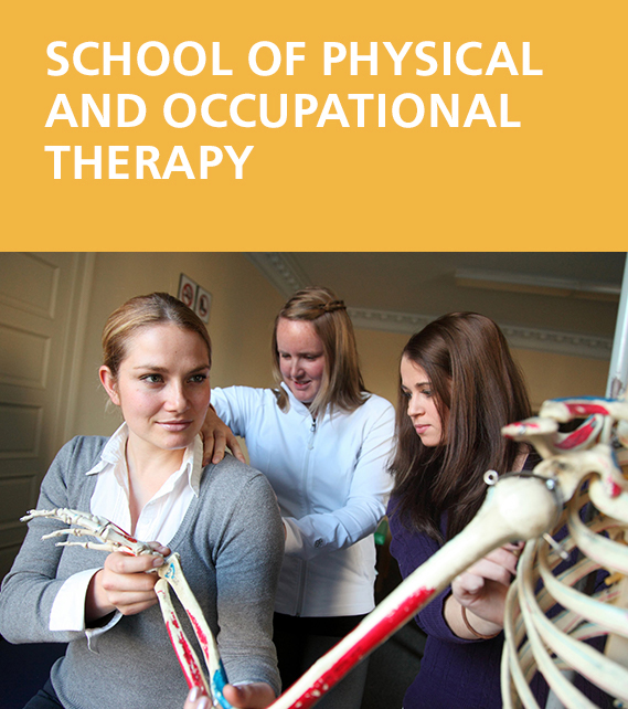 School of Physical and Occupational Therapy