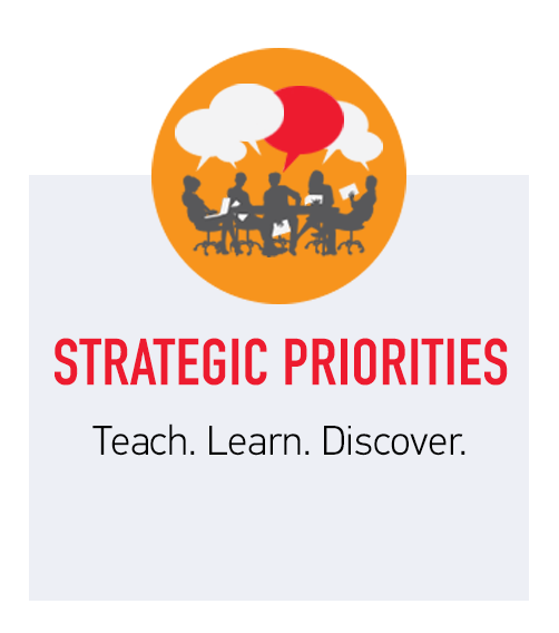 Strategic Priorities - Teach. Learn.Discover
