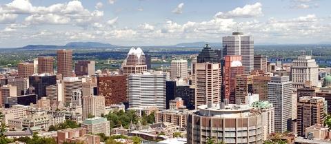 Montreal skyline shot