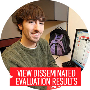 View disseminated evaluation results