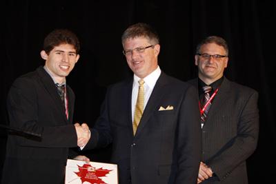 2010 André Laplante Scholarship Winner