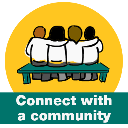 Connect with a Community