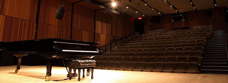Piano in Pollack Concert Hall Photos:Owen Egan