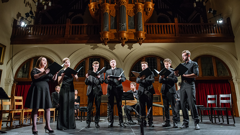 Cappella Antica in concert at RedPath Hall