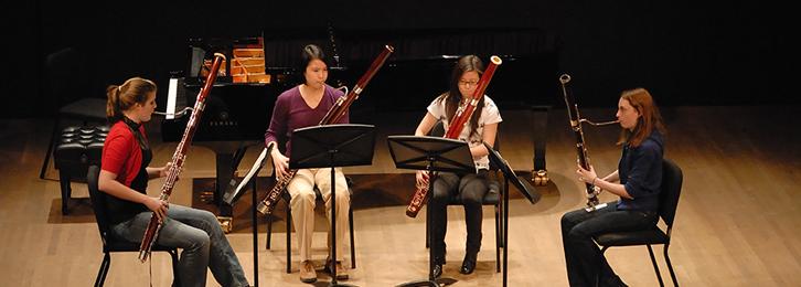 Schulich School of Music - Woodwind Area