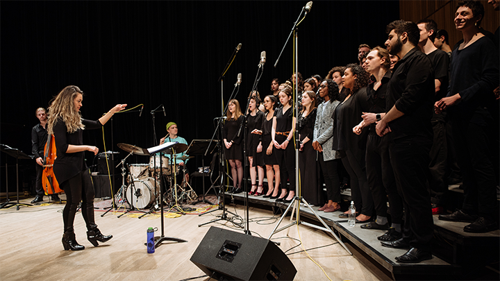 McGill Jazz Choir in concert