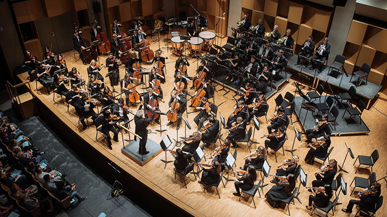 McGill Symphony Orchestra in concert