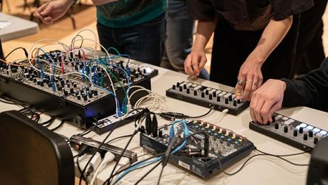 Acoustic control boards  recording studio