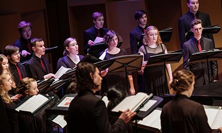 Choir in concert
