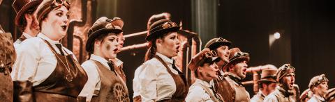 Opera McGill cast on stage