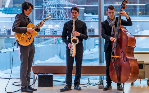 Schulich School of Music student musician combo