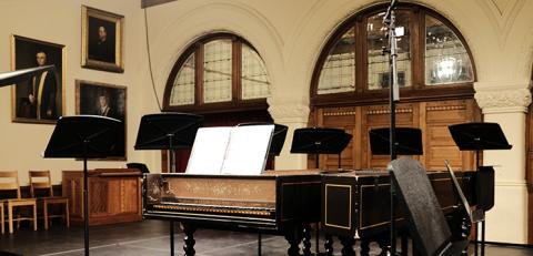 Harpsidchord setup