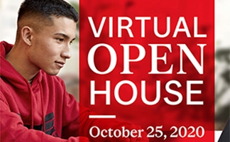 McGill Open House 2020 virtual event poster