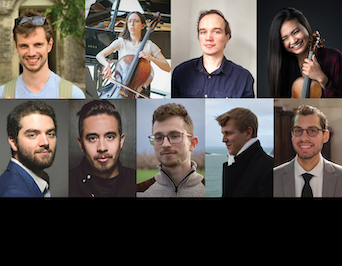 Montage of Schulich's 2019-20 student research awards recipients