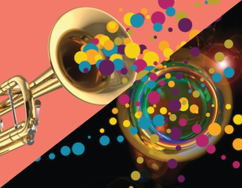 Saxophone and Trumpet event days banner
