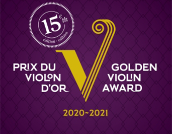 graphic for the Golden Violin Award