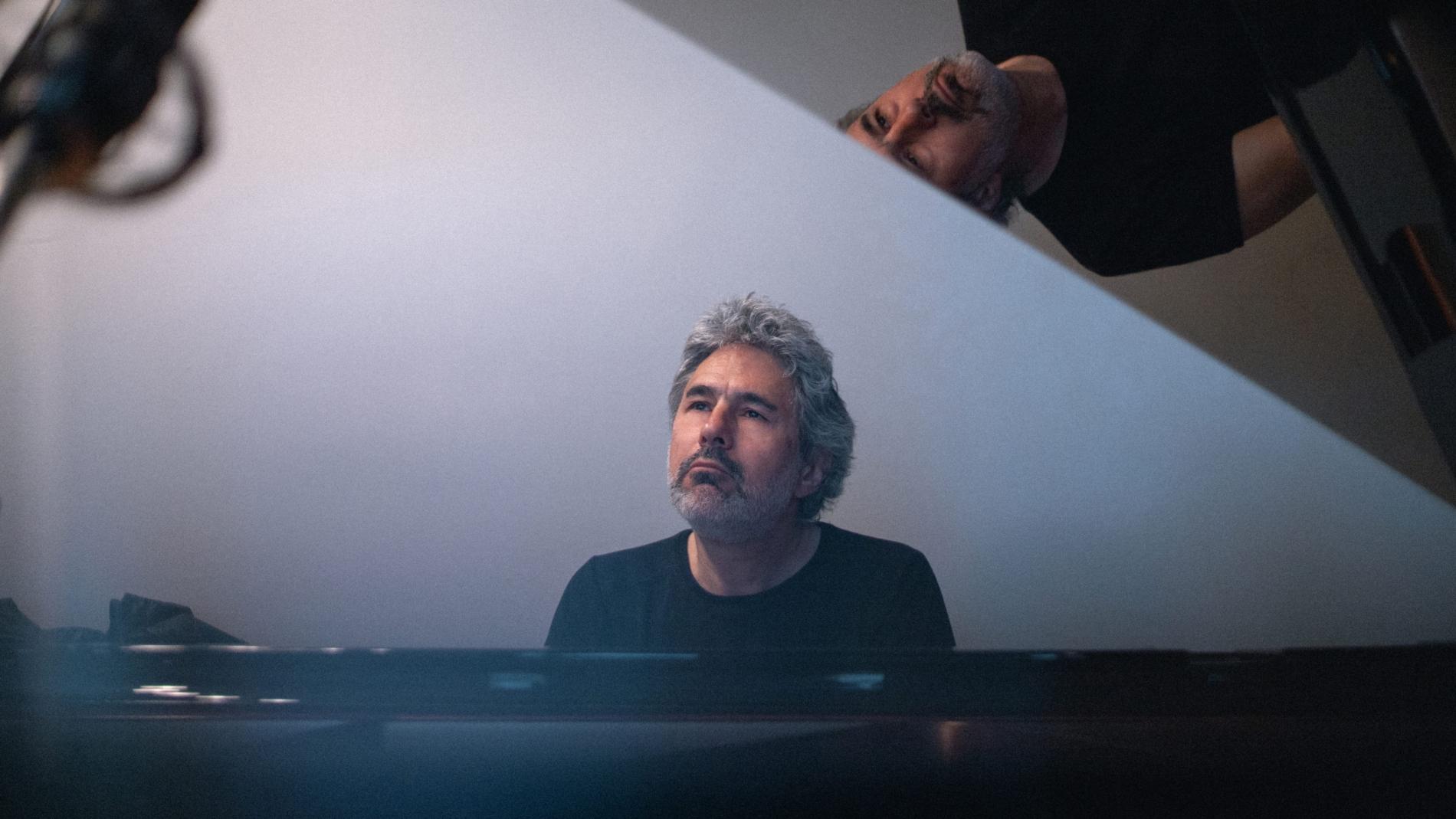 Jean-Michel Pilc at the piano