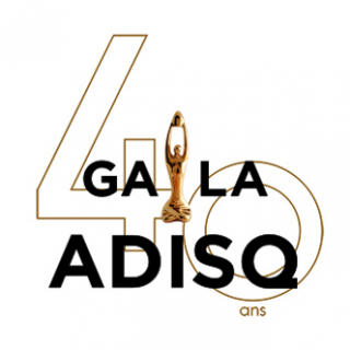 The 40th anniversary logo of l'ASDIQ.