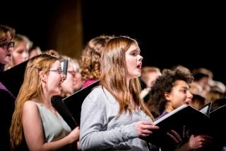 Choir; Photo Credit: Dominick Gravel