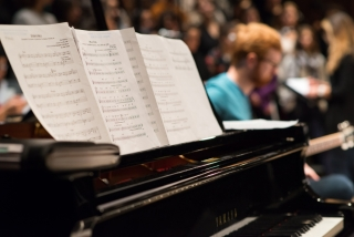 Orchestre de jazz II de McGill; Crédit: Peter Matulina