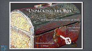 "Peter Schubert and Massimiliano Guido present ""Unpacking the box"""
