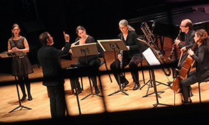 Schulich School of Music's Dr. Jacqueline Leclair with Ensemble Signal